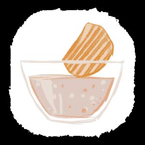 Dippi-mix jauheet